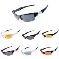 kahverengi kulüpler toptan satış-Marka tasarım 2019 Sıcak satış yarım çerçeve güneş gözlüğü kadın erkek Kulübü Usta Güneş gözlükleri açık havada sürüş gözlük uv400 Gözlük katiyen kahverengi vaka