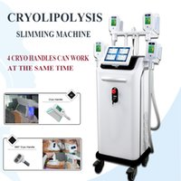 máquinas de congelación de liposucción al por mayor-Máquina para adelgazar Zeltiq Cryolipolysis Liposuction 5 manijas Freeze Cryolipolysis Lipo Cryo Cryotherapy máquina de pérdida de peso CE