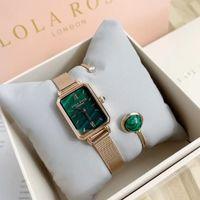 london quarzuhren großhandel-Lola Rose London LR4122 Luxus Frauen Quarzuhr Uhren und Schmuck Armbänder Fashion Lady Elegant Armbanduhren mit Originalverpackung