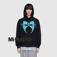 maskierter hoodie großhandel-19FW Luxus Herbst Winter Europa Italien Maske Hoodies Mode Männer Kleidung Kapuzenpulli Frauen Hoody