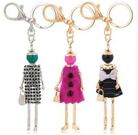 Wholesale metal rings for keyrings for sale - Group buy tatement keychains girls key chain for women charm key ring pendant new jewelry aceessorie lady keyring MMA1422