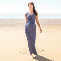 yüksek yuvarlak boyun elbise toptan satış-Kadın Çizgili Emzirme Elbise Hamile Çizgili Elbise Hamile Giyim Kadın Yuvarlak Boyun Elbise Kısa Kollu Yüksek Bel 58