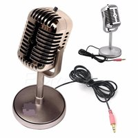Wholesale recording microphones for laptops resale online - New arrival MM Stereo Recording Desktop Computer Laptop Mini Microphone For Sing Chatting Hot Sale