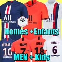 futbol futbolu toptan satış-Top thailand quality 19 20 season soccer jerseys 2019 2020 football shirt soccer tops home away 3rd men and kids set