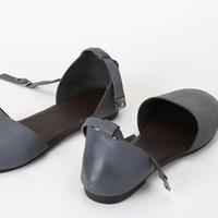 Wholesale black platform sandals dress shoes resale online - Size32 Fashion Women Rivet Women Shoes Platform Genuine Leather Pointed Toe Dress Shoe Sandals Wedding Shoes