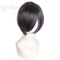 Wholesale kuroshitsuji ciel phantomhive cosplay for sale - Group buy Kuroshitsuji Black Butler Ciel Phantomhive Short Straight Blue Gray Cosplay Wigs