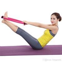 cuerpo circular al por mayor-Yoga Pilates anillo aptitud tensión magia del cuerpo Círculos Hombre Mujeres Fuerza Gimnasio de Ejercicio Deportes accesorios de alta calidad 14xg Ww