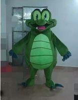trajes do epe venda por atacado-Novo Super Hot Crocodilo Mascot Costume Fancy Dress EPE