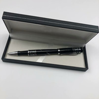 ingrosso carrelli della spesa-Lusso MB metallo nero penna a sfera business cancelleria per ufficio migliore carrello della spesa più scatola regalo di fascia alta