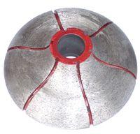 алмазные гранитные долота оптовых-Профильный шлифовальный круг Гранитный алмазный фрезерный станок Continuous Rim Diamond CNC