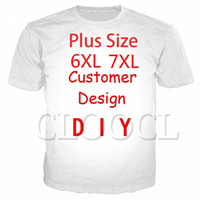 Discount wrinkled shirt CLOOCL DIY Customize Personality Design T-Shirts 3D Print Own Image Photo Star Anime Casual Plus Size T-Shirts