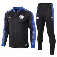 18 19 chaquetas de la Serie A del Inter de Milán 2019 NAINGGOLAN chándal  para adultos Traje de entrenamiento LAUTARO Uniforme de fútbol de manga  larga ... f43b9f359c914