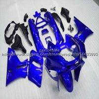 пластмассовые мотоциклы для kawasaki zzr оптовых-23 цвета + 5 подарков литья под давлением синий обтекатель мотоцикла для Kawasaki ZZR 400 1993-2007 ABS пластик комплект