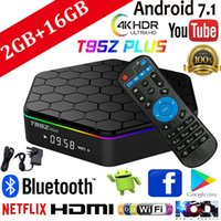 Wholesale s912 tv box for sale - Group buy 2GB GB T95Z Plus Smart TV Box Amlogic S912 Octa Core Android TV BOX Support IPTV BT4 K