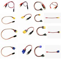 Wholesale FUSE MODEL RC Charge cable leads Futaba JR SM JST BEC Glow to mm Amass xt60 ec3 for RC Micro model toys
