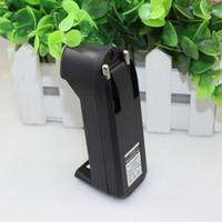 cargador de pilas recargables cr123a al por mayor-Cargador de batería para batería recargable de ion de litio de EUA 18650 18350 26650 16340 14500 CR123A Cargador de batería para linterna e-cig