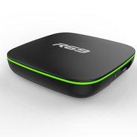 allwinner skype-tv-box großhandel-R69 Smart Android 7.1 TV Box 2 GB 16 GB Allwinner H3 Quad-Core 2,4 G Wifi 1080 P HD Unterstützung 3D Film Set Top Box