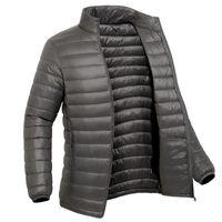 Men's Outdoor Autumn Winter Solid Color Warm Down Jacket