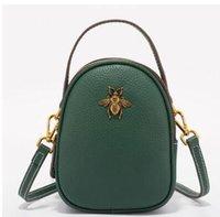 modetelefon mini großhandel-Leder kleine Taschen koreanische Version 2019 neue Mini-Handytasche wilde Mode lässig Umhängetasche kleine Tasche Handtasche