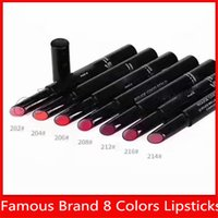 Wholesale low lipsticks for sale - Group buy Famous C Brand LE ROUGE BRILLANT COMPLETE CARE LIPSHINE MATTE Lipsticks make up with lowest price and high quality