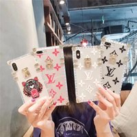 Wholesale china phone iphone for sale – best Clear Cover For iphone X case plus TPU Back cover For iPhone XS XR MAX plus11promax Fashion brand Designer Phone Case Drop shipping