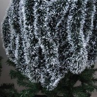 Wholesale candles black color for sale - Group buy Christmas Decoration m Ribbon Garland Color Bar Tops Christmas Tree Ornaments Rattan Decoration Home Decor