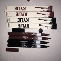 maquillage liquide longue durée achat en gros de-Maquillage Liquide Eyeliner Crayon Maquillage Étanche Black Eye Liner Pencil De longue durée Facile à Porter Liquide Eyeliner RRA1186