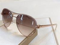 Wholesale new eyewear shape resale online - new fashion women designer sunglasses metal pilot animal frame Snake shaped legs with diamonds top quality protection eyewear
