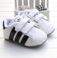 sangles pour marchettes achat en gros de-Chaussures bébé premier chaussures de bébé occasionnels printemps et en automne chaussures de bébé premiers marcheurs 0-1
