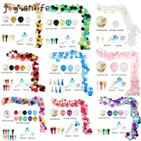 ingrosso baby shower multicolore-113pcs multicolore Palloncini Garland Arch Kit Confetti Latex Balloon Compleanno nozze Baby Shower Anniversary Party Decoration CY200522