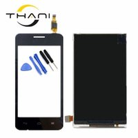 сенсорный экран дисплея lcd телефона оптовых-Thani original new Y330-C00 LCD screen for Y330 Cell Phones LCD Display + Touch Screen Digitizer Assembly free shipping+tools