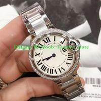 montres mécaniques pour dames achat en gros de-Montres de luxe meilleur poignet montre ballon bleu Quartz verre saphir 316L mécanique automatique montres femmes