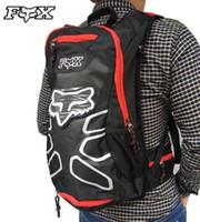 saco para moto venda por atacado-saco KTM Motorcycle Backpack Moto ombros impermeáveis reflexivas malas Saco de água motocross pacote de corrida de viagens grátis