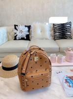 moderne frauen rucksack großhandel-Designer Rucksäcke MOM Deutsch modernen Stil hochwertige Rucksack 2019 neuen Stil Damenmode Rucksack Geldbörsen Tasche