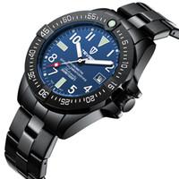 homem, mão, relógio, tempo venda por atacado-TEVISE T839A Homens de Negócios Relógio Mecânico Automático Calendário Tempo de Exibição Casual Luminous Hands À Prova D 'Água relógio de Pulso Masculino