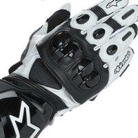 deri motokros eldivenleri toptan satış-003 PRO Motokros Binme Eldiven Deri Şövalye / Motosiklet Yarışı Bisiklet Açık Eldivenler