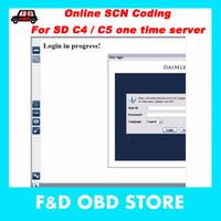 xentry tools venda por atacado-Codificação SCN Online para Xentry Ferramenta de diagnóstico SD C4 / servidor c4 / SD C5 de login único serviço de hora (DALM-LER) $ 39USD