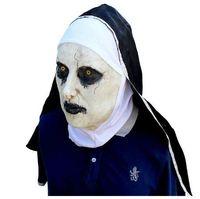látex femenino cara al por mayor-Máscara de Halloween Mascarada Vestido de fiesta de látex Asustado rostro femenino cubierta Adultos Máscara Realista máscara de fiesta de látex de los hombres Envío Gratis