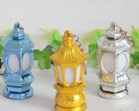 Wholesale keychain lantern resale online - Ramadan Lantern Keychain Led Light with AG3 batteries Outdoor tools size cm
