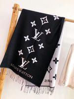 lenço cinza venda por atacado-Mais novo design Cashmere Rhinstone Cachecol Pashmina para Quente alta qualidade mulheres Marca cachecóis de inverno xales Preto Cinza Cristal Cachecóis 180x70cm
