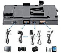 camera lock großhandel-Freeshipping BMCC 5DII V V-Schloss für BP-Kamera-Akku-Adapterklemme Stromversorgungssystem 5D Mark II / 7D DSLR