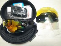 gafas de montaña al por mayor-2020 17 colores 5 Lente Jawbreaker Ciclismo Gafas de sol polarizadas ciclismo deporte que compite con el ciclismo de montaña GlassesOAKLEY Gafas