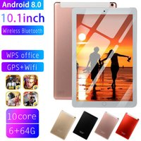 Wholesale ips dual sim gps for sale - Group buy 2020 WiFi Tablet PC IPS Screen Inch Ten Core G G Android Dual SIM Dual Camera Tablet GPS Phone Pad