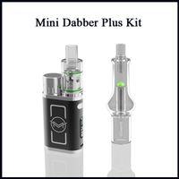 Wholesale 35w box mod resale online - Authentic VapMod Mini Dabber Plus Kit W Adjustable Wattage Vaporizer TC Box Mod For Wax Vape R13 Atomizer Tank E Cigarette