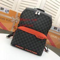 Wholesale u3 resale online - New style Unisex Backpacks Men School Bags For Teenagers Boys Girls Travel Simple print leather leather backpack Mochila Rucksack G u3