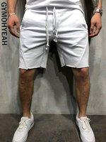 bermuda calções venda venda por atacado-Gymohyeah 2019 Nova Carga Solta Calções Dos Homens Calças de Verão Calças Curtas Venda Quente Homme Shorts Carga Bermuda Masculina Modis Streetwear Q190428