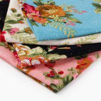 vestido estampado venda por atacado-lenços de algodão dos homens casuais toalhas saco vestido de flores impresso Lenços