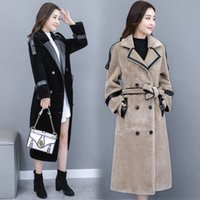 Wholesale stylish coats for winter for sale - Stylish Women s Windbreaker Coat Female Women s Winter Jacket Coat For Women Casaco Feminino Long Wind Raincoat