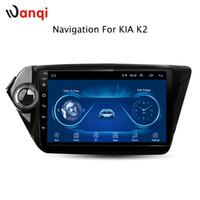 rádio de carro para kia venda por atacado-9 polegadas Android 8.1 carro dvd Navegação GPS para KIA RIO2 K2 2010-2015 Com Bluetooth / TV / WIFI / USB / Rádio / vídeo