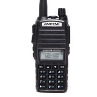 talkie walkie baofeng uv 8w toptan satış-Baofeng UV-82 Artı Walkie Talkie 8W 10km Uzun Menzilli Güçlü Walkie Talkie Taşınabilir CB vhf / UHF iki yönlü Radyo Amador 8 watt